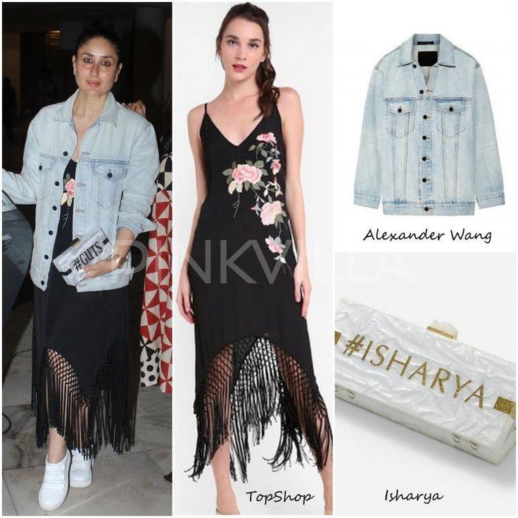 Celebrity Style,alexander wang,kareena kapoor khan,TopShop,isharya