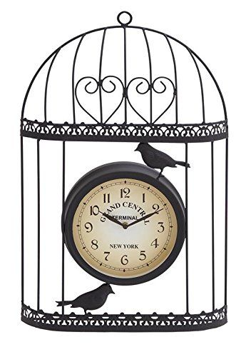 Outdoor Clocks  Deco 79 35419 Metal Outdoor Clock, 14 by 21-Inch Driveway <3 This is an Amazon Associate's Pin. Find the item on the website by clicking the image.