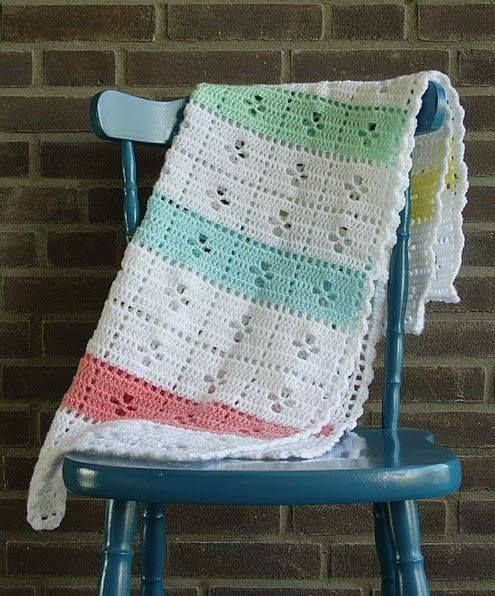Call the Midwife inspired baby afghan