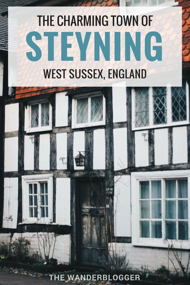 The Charming Town Of Steyning In West Sussex, England