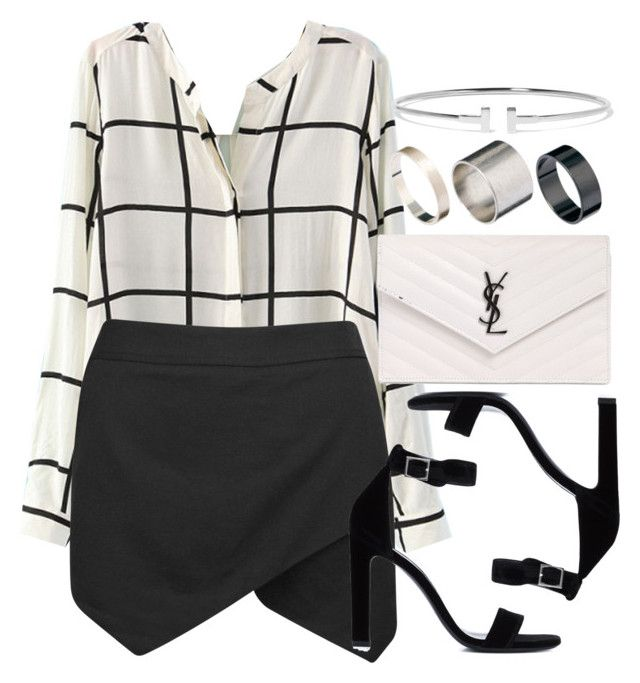 """Style #10919"" by vany-alvarado ❤ liked on Polyvore featuring Yves Saint Laurent, Tiffany & Co. and Just Acces"