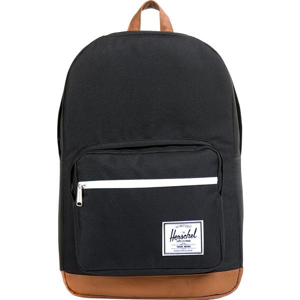 "Herschel Pop Quiz Laptop Backpack - 15"" - Black - Laptop Backpacks ($75) ❤ liked on Polyvore featuring bags, backpacks, backpack, black, pocket backpack, waterproof laptop bag, laptop rucksack, laptop bags and mesh backpack"