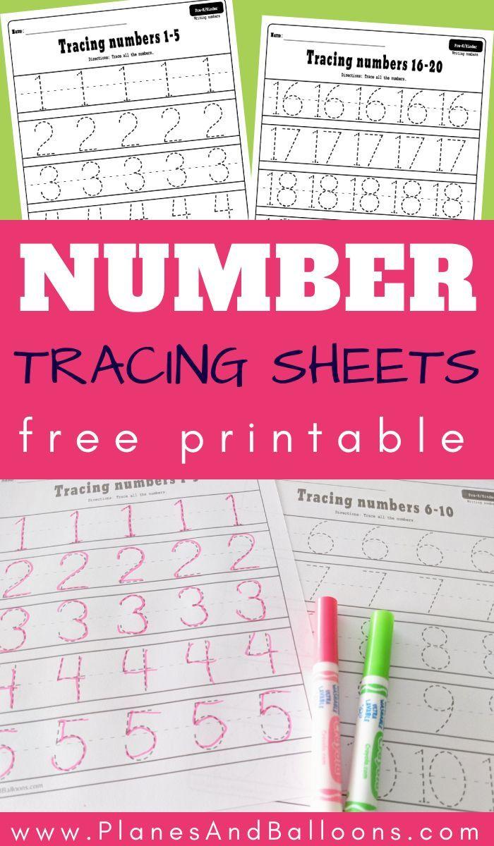 Number 1 20 Tracing Worksheets Free Printable Pdf Tracing Worksheets Free Free Math Printables Tracing Worksheets [ 1200 x 700 Pixel ]