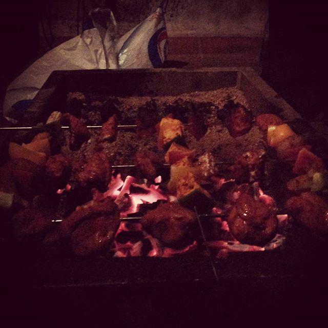 BBQ NIGHT #justfamily #Artmob #madras #lamartin