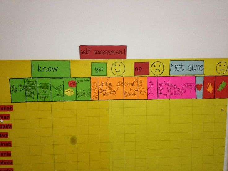Self Assessment :Learning Intentions and Success Criteria