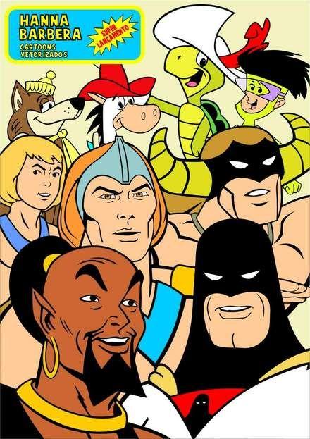 Hanna Barbera                                                                                                                                                      Mais