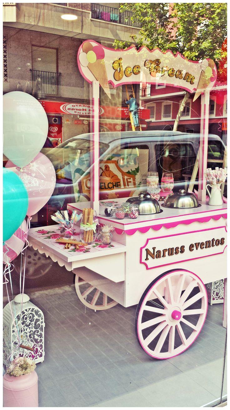 Carrito vintage de helados!!!