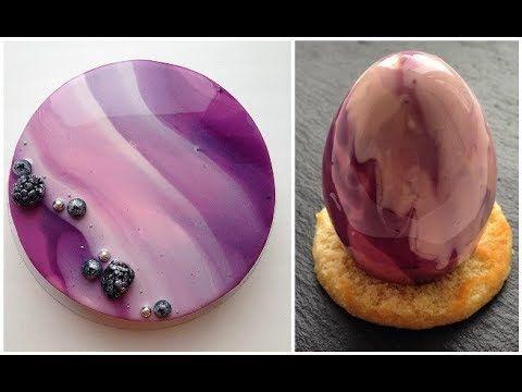 Top 10 Amazing Galaxy Mirror Cakes | Easy DIY Cake | Cake Decorating Video - YouTube