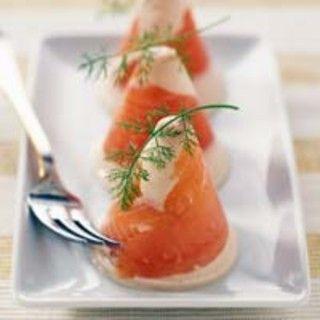 Aspic de saumon et crevettes : recette sur Cuisine Actuelle