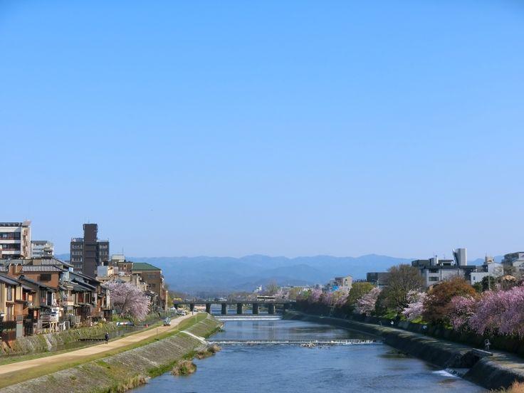 Kamogawa River, Kyoto, 2017