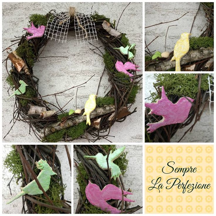 Easter wreath, Spring wreath