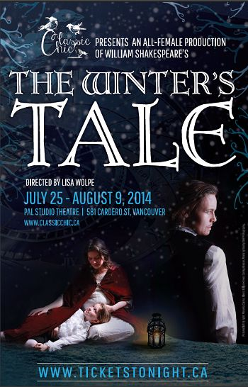 Enter to win 2 tix to see THE WINTER'S TALE July 25. Contest closes July 18, 2014 at 2:00 p.m. Pacific Time