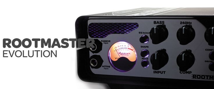 Ashdown RM-500-EVO 500w Rootmaster Head