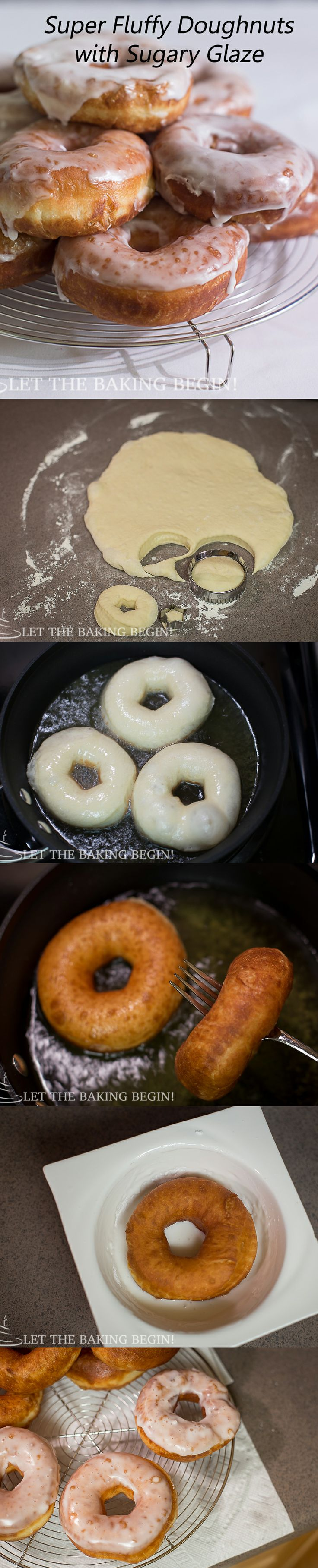 Super soft, adorned with crispy sugar glaze these doughnuts were a huge hit in our family!