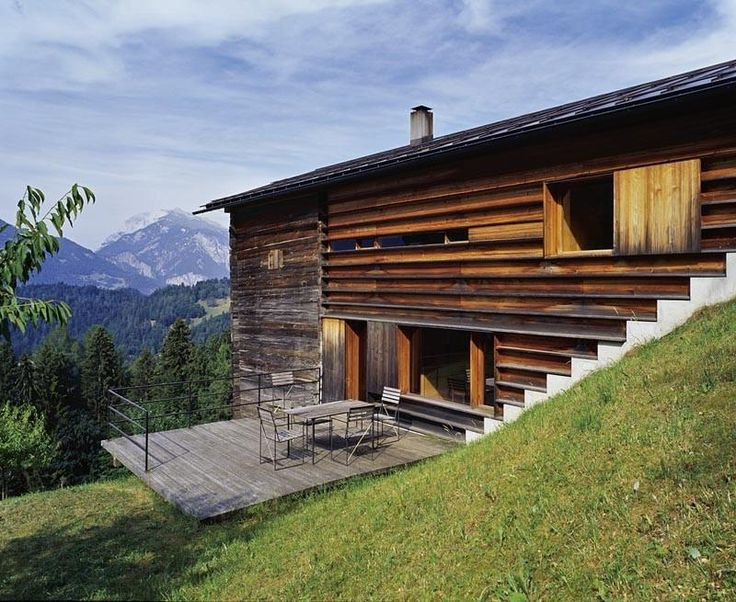 Gugalun house peter zumthor peter zumthor pinterest - Maison campagne suisse fovea architects ...