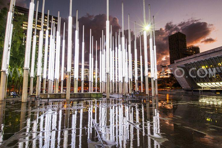 Parque de las Luces- Medellín, Colombia