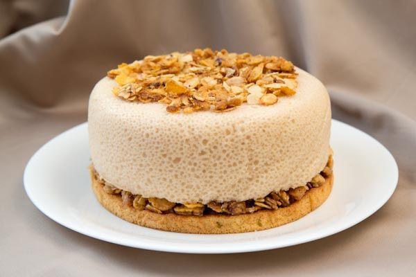 Торт «Ванильно-грушевые облака»