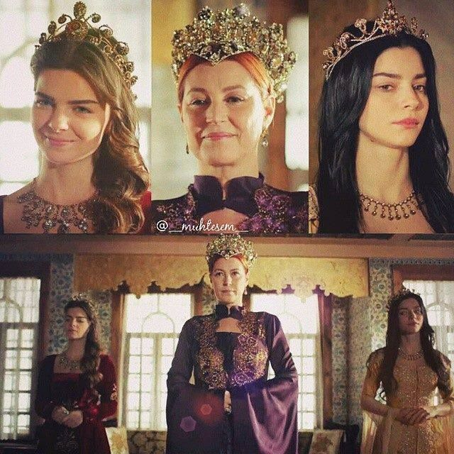 Sultanas in their best dress are welcoming polish princess. Nurbanu looks much less amused than rest of the crew, since she is not in the right mood to suffer trough two hours of Mihrimah's polish jokes. Hürrem is willing to sacrifice herself for the sake of diplomacy, though, which shows the long way Nurbanu has to go trough to become real sultana.