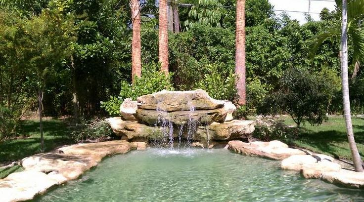 8 best cascadas para piscina images on pinterest - Cascadas de piscinas ...