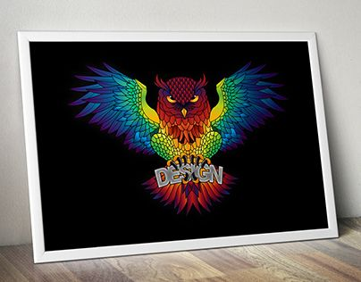 """Check out new work on my @Behance portfolio: """"Owls love design"""" http://be.net/gallery/37505809/Owls-love-design"""