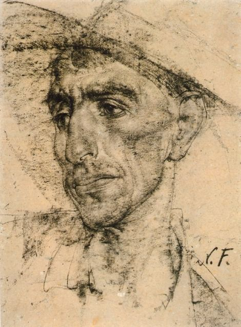 Nicolai Fechin, (1936 After) Mexican cowboy hat on ArtStack #nicolai-fechin #art