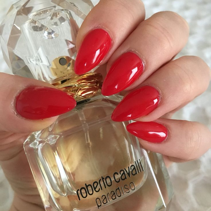 17 Best ideas about Almond Nails Red on Pinterest | Long ...