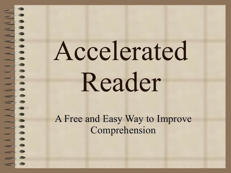 accelerated-reader-powerpoint by pattie thomas via Slideshare