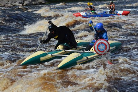 Rafting in Karelia