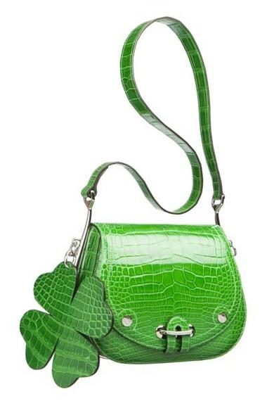 Hermès four leaf clover bag.   Yes!