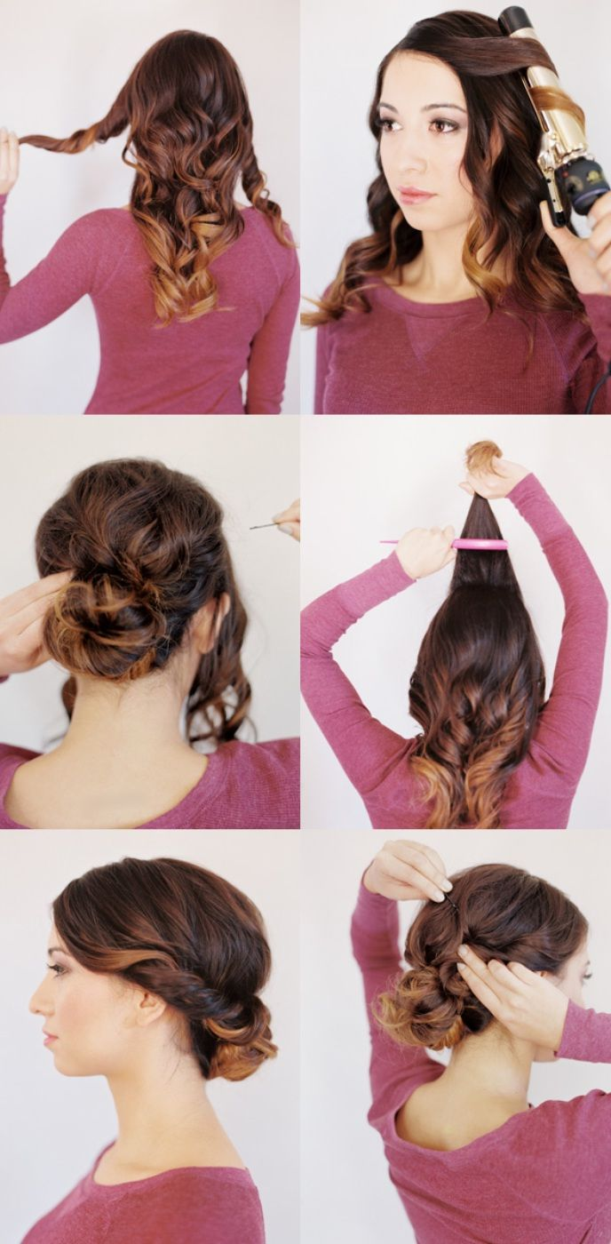 8 best Easy Medium Length Wedding Hairstyles images on Pinterest ...