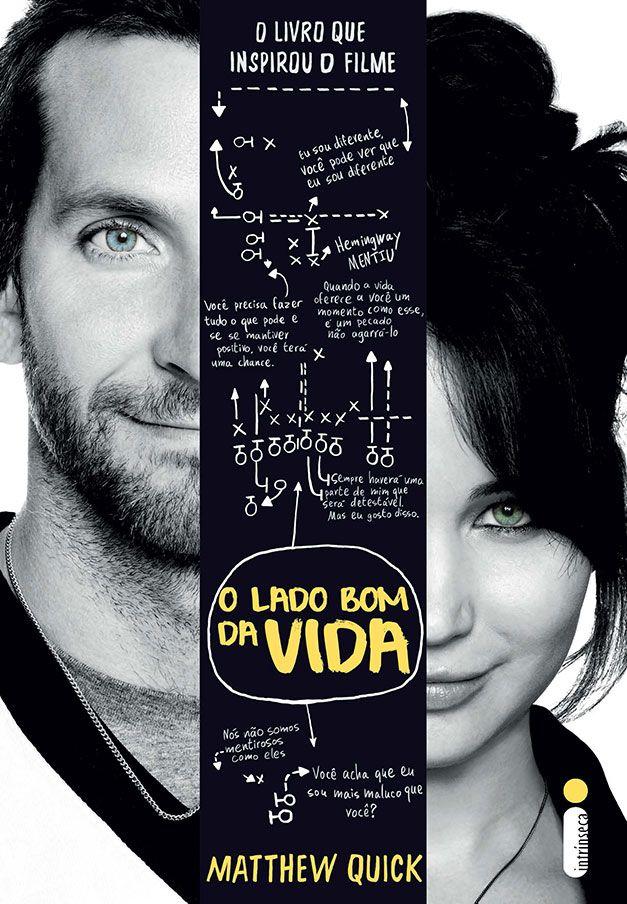 """Silver Linings Playbook"" in Portuguese: ""O lado bom da vida"" (Translation: ""The good side of life"")"