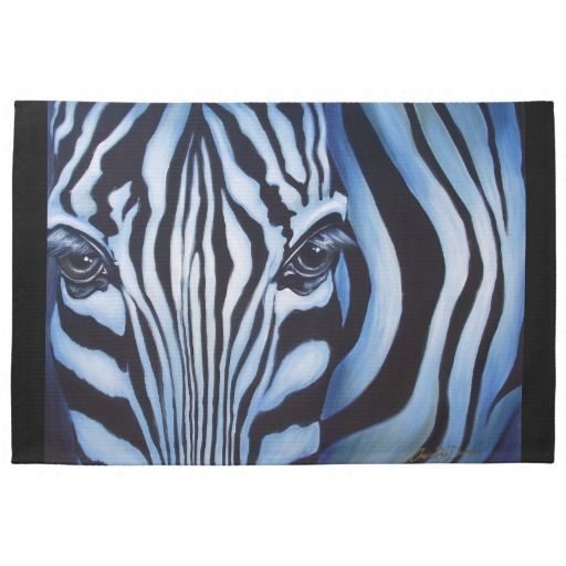 Zebra Dish Towel #kitchenstuff #zebra