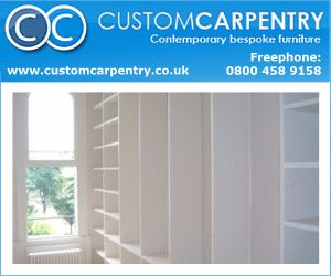 Carpentry Banner Examples. Unique banners for Internet advertising for your carpentry business and services. Custom banners and graphics for you carpentry website.   Banner Design Examples 300 x 250 Animated