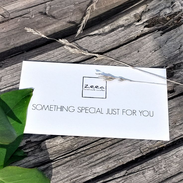 SOMETHING SPECIAL JUST FOR YOU ...