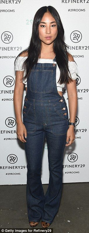 Sporty and sexy: : Actresses Diane Guerrero and Greta Lee lent their stylish appeal to the...