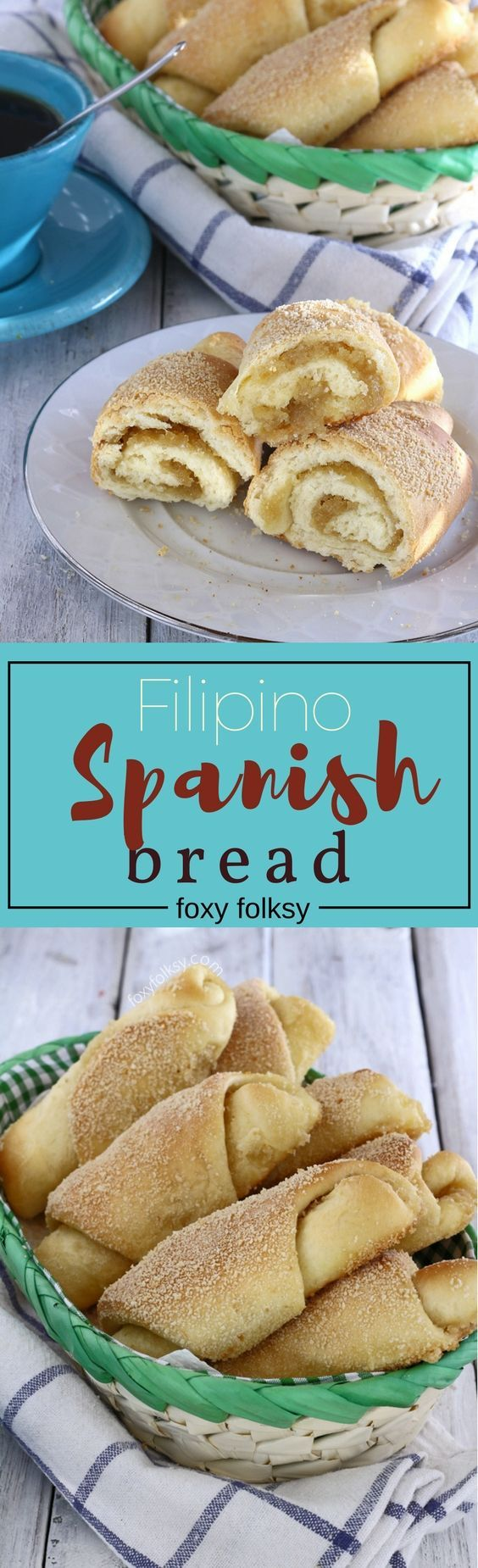 Learn how to make this delicious Filipino Spanish bread for your afternoon snack. | www.foxyfolksy.com #bread #snack #pastry