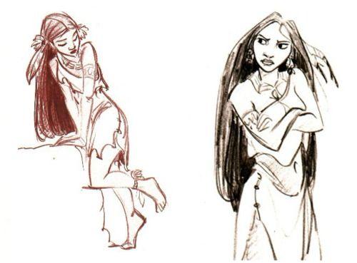 Film: Pocahontas ===== Character Design: Pocahontas
