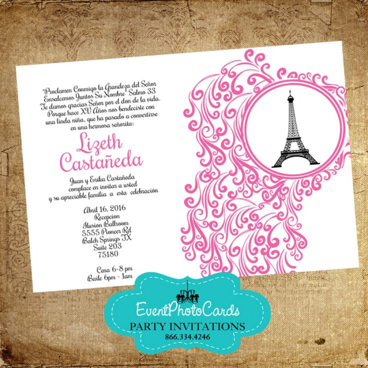 xv invitations