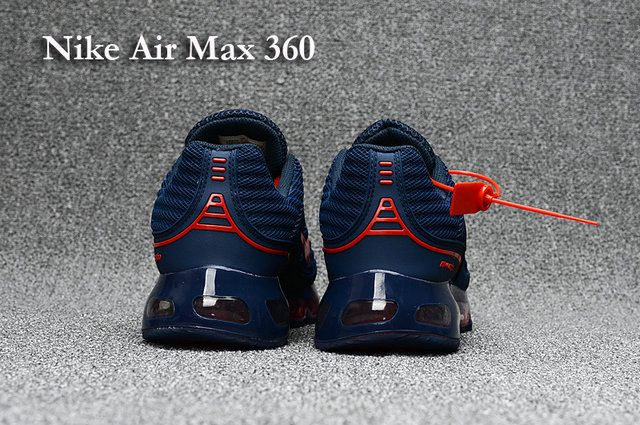 Nike Air Max 360 Men's shoes Blue Red