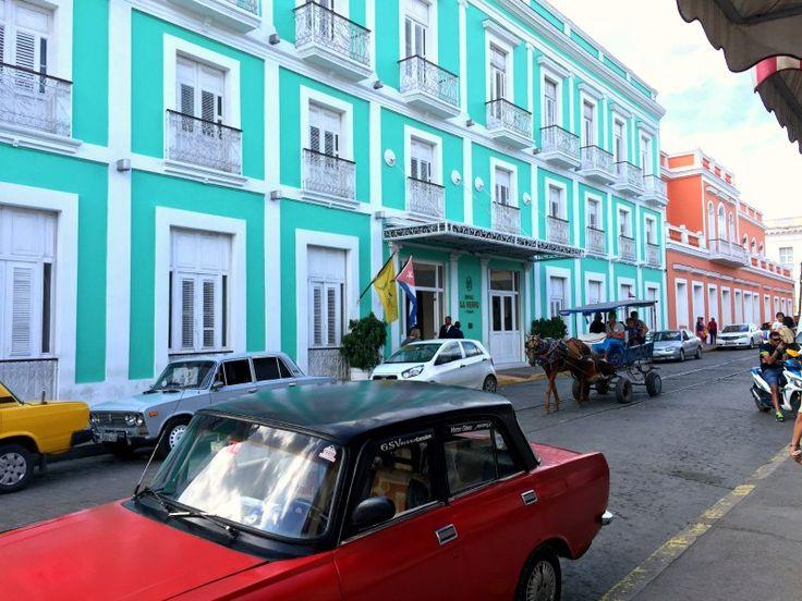 Cuba with kids: Hotel La Union in Cienfuegos