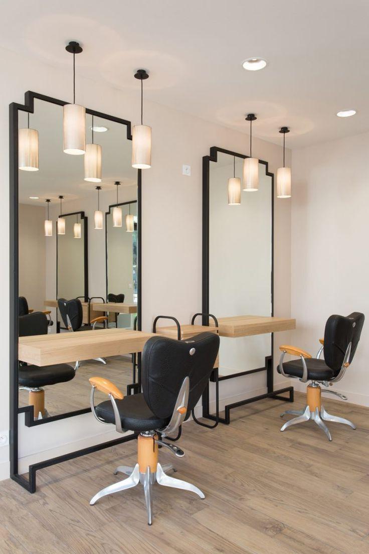 Mobilier Salon De Coiffure Beauty Salon Decor Salon Interior Design Hair Salon Interior