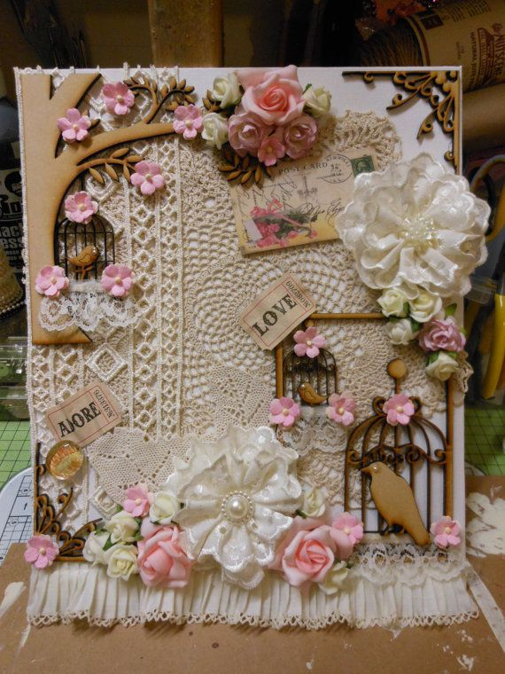 Stunning Shabby Chic Summer Canvas by jennings644 on Etsy, £25.00