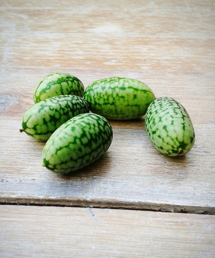 What Is A Cucamelon - Cucamelons Summer Fruit | The cutest fruit of the summer is a hybrid between a cucumber and watermelon. #refinery29 http://www.refinery29.com/2016/08/119369/cucamelon-summer-fruit