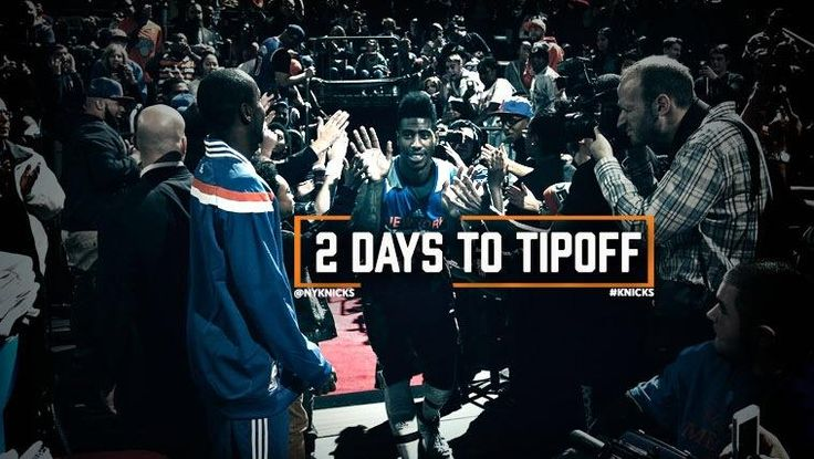 New York Knicks - Countdown Graphic for the 2014 Season
