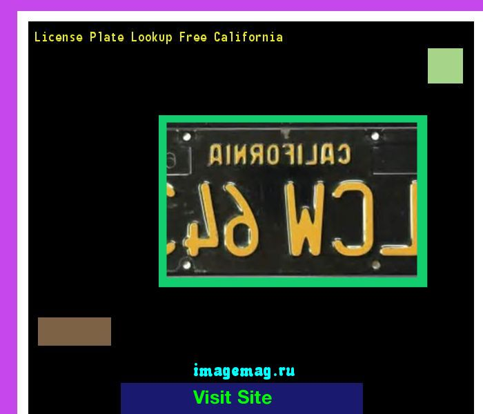 License plate lookup free california 160758 - The Best Image Search