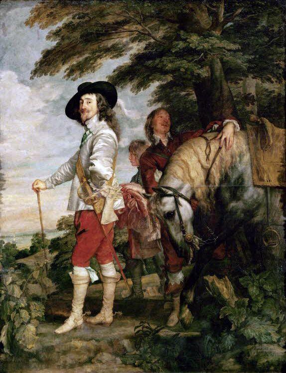 Charles I of England - Van Dyck - Charles I at the Hunt - Wikipedia