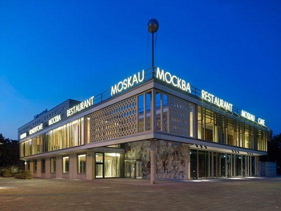 Umbau des Café Moskau zum Konferenzzentrum