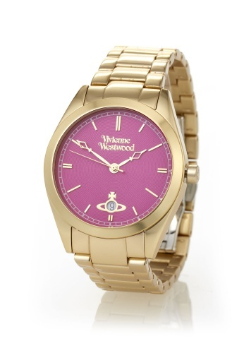 Gold St James Watch by Vivienne Westwood.