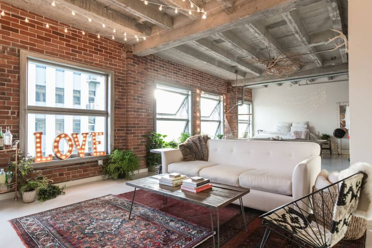 Los Angeles Loft With Exposed Brick gravityhomeblog.com - instagram - pinterest - bloglovin