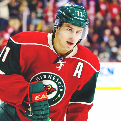 Zach Parise - Minnesota Wild - Hockey